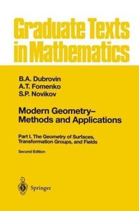Modern Geometry - Methods and Applications