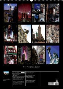 New York Like A Cartoon (Posterbuch DIN A3 hoch)