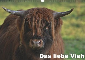 Das liebe Vieh (Wandkalender 2019 DIN A3 quer)