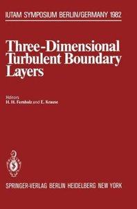 Three-Dimensional Turbulent Boundary Layers