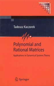 Polynomial and Rational Matrices