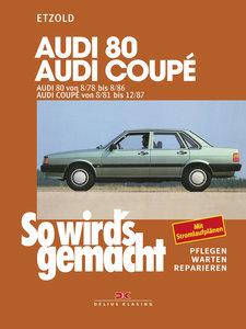 Audi 80 8/78 bis 8/86, Audi Coupé 8/81 bis 12/87