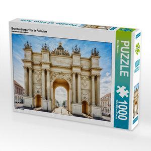 CALVENDO Puzzle Brandenburger Tor in Potsdam 1000 Teile Lege-Grö