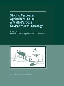 Storing Carbon in Agricultural Soils