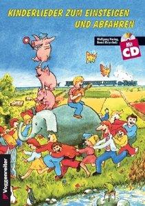 Kinderlieder zum Einsteigen und Abfahren 1. Inkl. CD