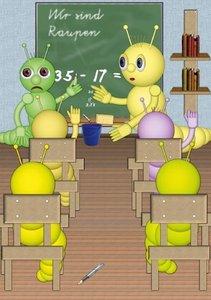 Die kleinen Raupen und ihre Erlebnisse (Tischaufsteller DIN A5 h