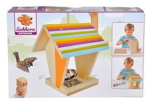 Eichhorn 100004582 - Outdoor Futterhaus Spielzeug, Bunt