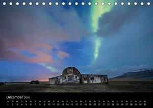 Island im Polarlicht