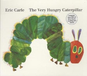 The Very Hungry Caterpillar, w. Audio-CD