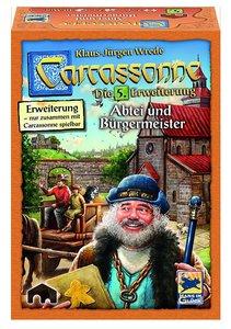 Carcassonne. Abtei und Bürgermeister. Erweiterung 5. Neue Editio