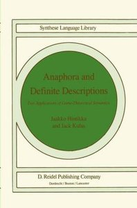 Anaphora and Definite Descriptions