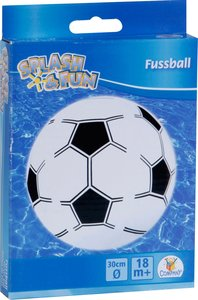 Splash & Fun Strandball Fußball, Ø ca. 30 cm