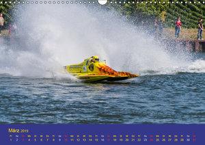 Rennboote - Rennbootserien in Deutschland (Wandkalender 2019 DIN