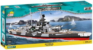 Cobi 4809 - Historical Collection, Battleship Tirpitz, Konstrukt