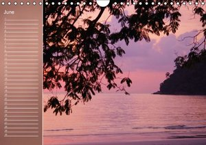 Colors by the Sea (Wall Calendar perpetual DIN A4 Landscape)
