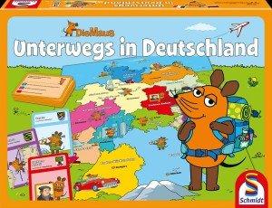 Die Maus (Kinderspiel) / Unterwegs in Deutschland (Kinderspiel)