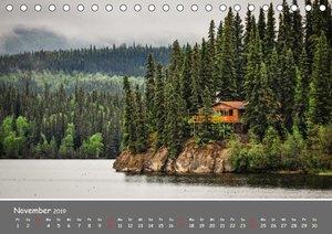 Unterwegs in Alaska (Tischkalender 2019 DIN A5 quer)