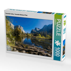 CALVENDO Puzzle Yosemite Valley, Yosemite National Park 1000 Tei