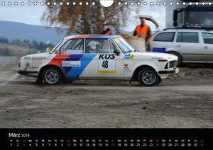 Asphalt und Schotter Rallye (Wandkalender 2019 DIN A4 quer)