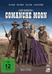 Larry McMurtry\'s Comanche Moon - Alle 3 Teile, 2 DVD