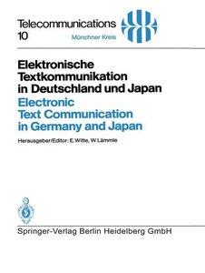 Elektronische Textkommunikation in Deutschland und Japan / Elect