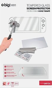 TEMPERED GLASS SCREEN PROTECTOR für Nintendo Switch, Hartglas-Sc