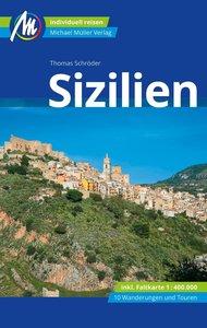Sizilien Reiseführer Michael Müller Verlag, mit 1 Karte