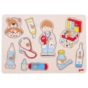 Besuch beim Arzt (Kinderpuzzle)