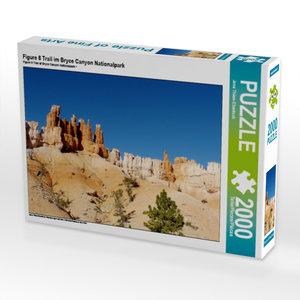 Figure 8 Trail im Bryce Canyon Nationalpark 2000 Teile Puzzle qu