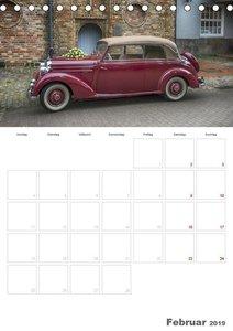 Mercedes Benz 170 SCB (Tischkalender 2019 DIN A5 hoch)