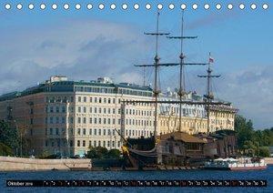 Flussfahrt Moskau - St. Petersburg (Tischkalender 2019 DIN A5 qu