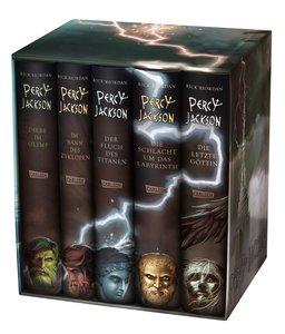 Percy Jackson: Percy-Jackson-Schuber 5 Bände - inkl. E-Book Kane