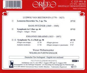 Leonoren-Ouvertüre III/Sinfonien op.46/op.98