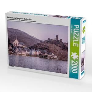Beilstein und Burgruine Metternich 2000 Teile Puzzle quer