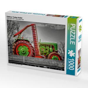 Oldtimer Traktor Holder 1000 Teile Puzzle quer
