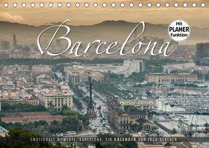Emotionale Momente: Barcelona. (Tischkalender 2020 DIN A5 quer)