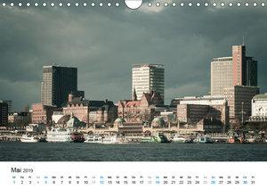 Hamburg - Die Perle des Nordens (Wandkalender 2019 DIN A4 quer)