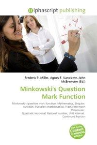 Minkowski\'s Question Mark Function