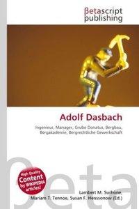 Adolf Dasbach
