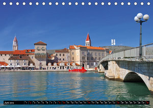 Trogir - Küstenstadt in Dalmatien (Tischkalender 2019 DIN A5 que