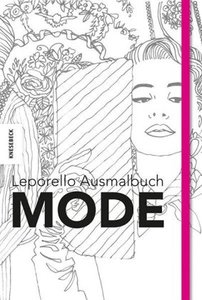 Leporello Ausmalbuch Mode