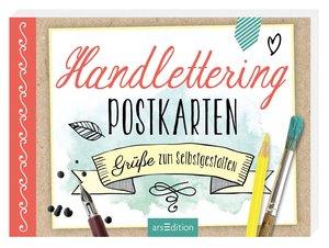 Handlettering-Postkarten