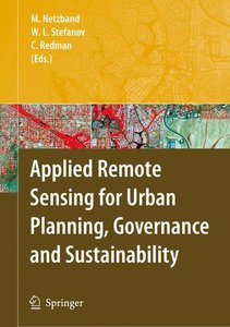 Applied Remote Sensing for Urban Planning, Governance and Sustai