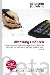 Abteilung Finanzen