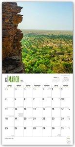 Africa - Afrika 2018 - 18-Monatskalender mit freier TravelDays-A