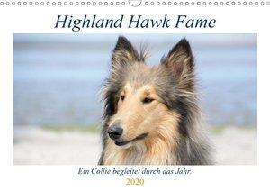Highland Hawk Fame - Ein Collie begleitet durch das Jahr (Wandka