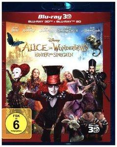 Alice im Wunderland: Hinter den Spiegeln (3D+2D) - Ablöseprodukt
