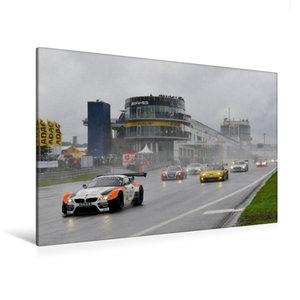 Premium Textil-Leinwand 120 cm x 80 cm quer ADAC GT Masters