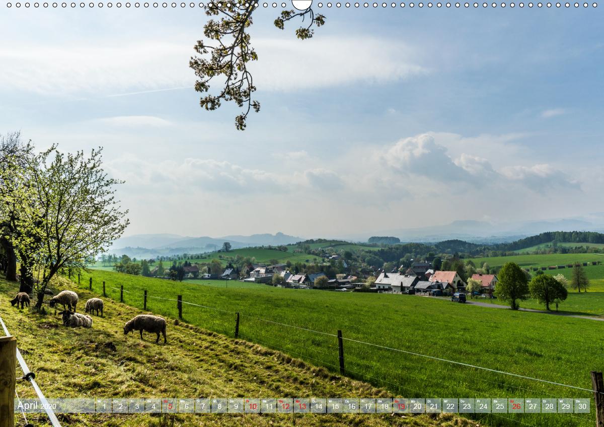 Hohnsteiner Impressionen - Sächsische Schweiz (Wandkalender 2020 - zum Schließen ins Bild klicken