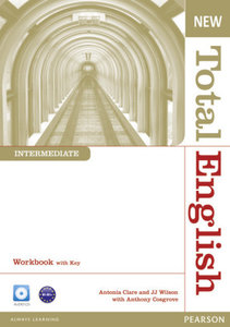 New Total English Intermediate Workbook with Key and Audio CD Pa